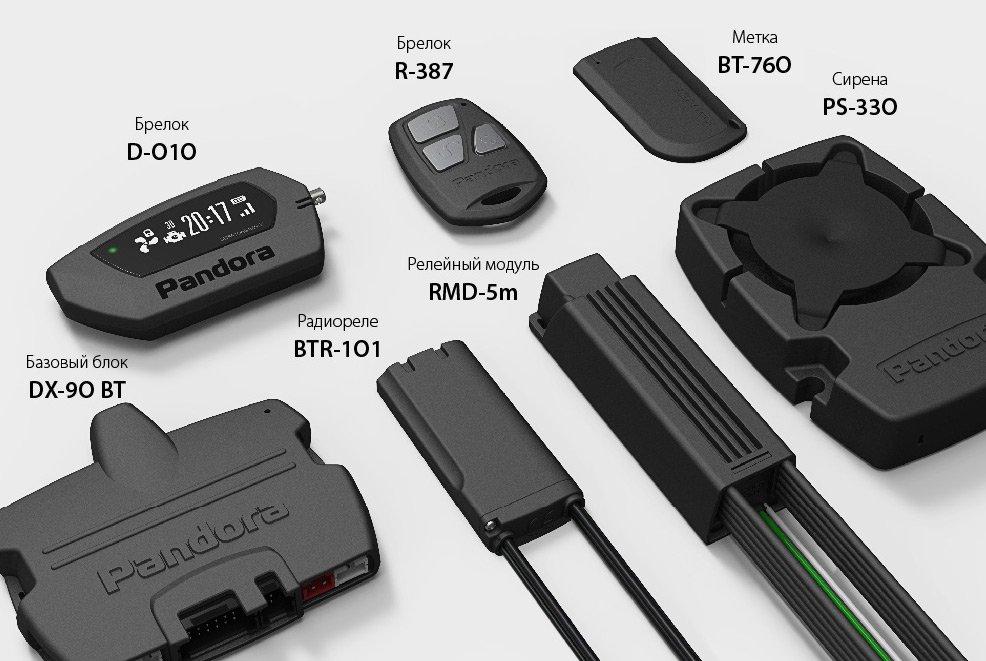 купить автосигнализацию Pandora DX-90BT