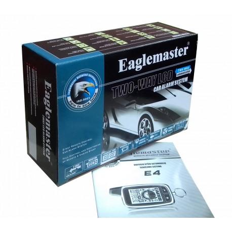 сигнализация Eaglemaster E4 LCD цена с установкой